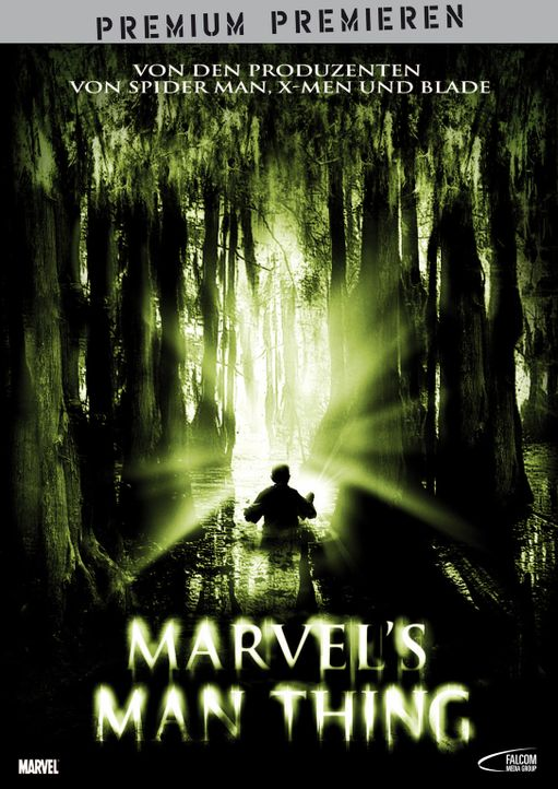 Marvel's Man Thing - Plakatmotiv - Bildquelle: Falcom Media Group AG
