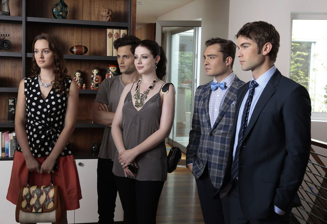 Blair, Georgina und Nate in Staffel 6 Gossip Girl - Bildquelle: Warner Bros. Television