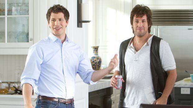 Ein echter Chaos-Dad: Todd (Andy Samberg, l.) weiß nicht, was er davon halten...