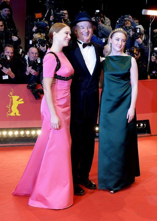 Berlinale-Lea-Seydoux-Bill-Murray-Saoirse-Ronan-14-02-06-AFP - Bildquelle: AFP