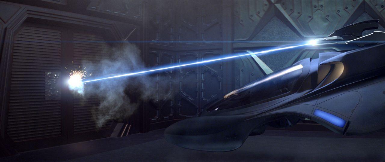 Auf einer Reise durch das Universum ... - Bildquelle: Paramount Pictures