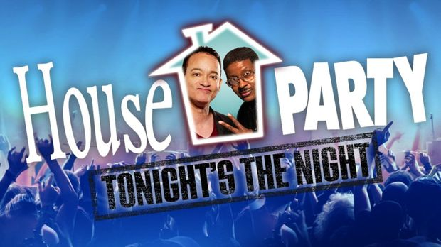 HOUSE PARTY: TONIGHT'S THE NIGHT - Artwork © Warner Brothers