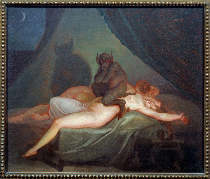 Weltweit sind Erzählungen von Beziehungen zwischen Menschen und Außerirdischen verbreitet. Die Entschlüsselung des Erbguts zeigt, dass die menschlic... - Bildquelle: Art Resource