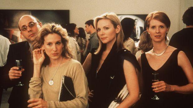 Steckt in jeder Frau auch ein Mann? Carrie (Sarah Jessica Parker, l.), Samant...
