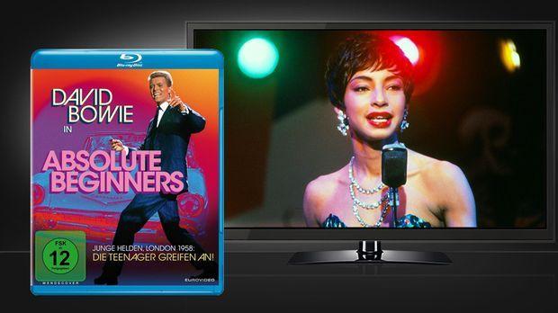 Absolute Beginners Blu-ray Cover und Szene © Euro Video