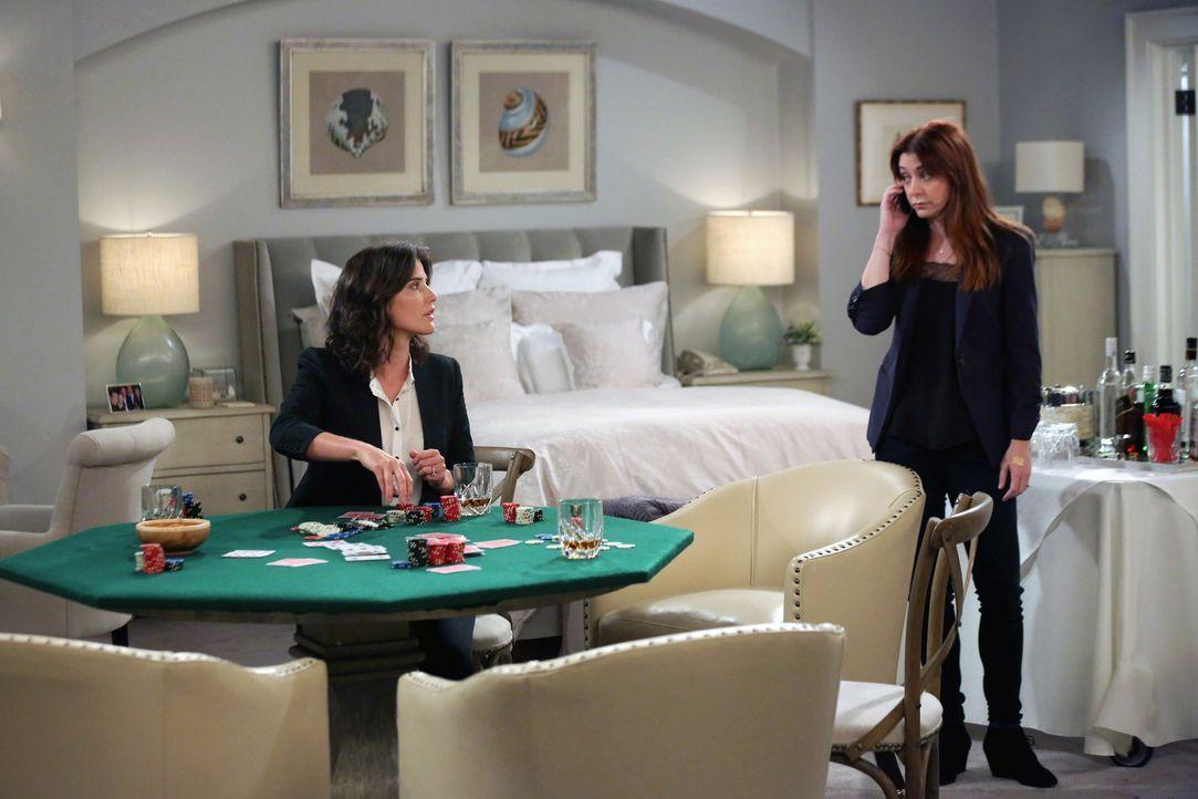 Haben so manche Probleme zu meistern: Robin (Cobie Smulders, l.) und Lily (Alyson Hannigan, r.) ... - Bildquelle: 2013 Twentieth Century Fox Film Corporation. All rights reserved.
