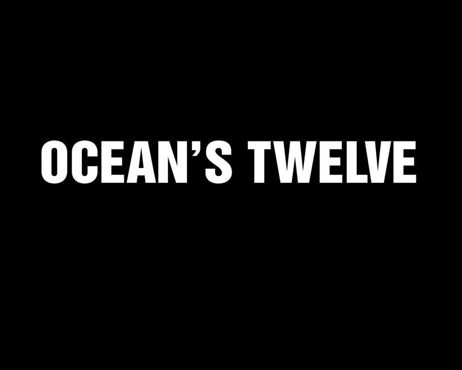 OCEAN'S TWELVE - Logo - Bildquelle: Warner Bros. Television