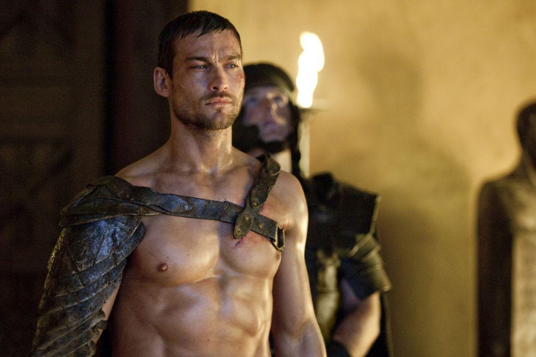 Muss erkennen, dass sein Schicksal selbst in der Stunde des Sieges weiterhin Verluste und Verletzungen für ihn bereithält: Spartacus (Andy Whitfie... - Bildquelle: 2010 Starz Entertainment, LLC