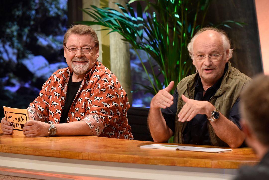 Dr Wolf mit Jürgen von der Lippe - Bildquelle: Martin Rottenkolber