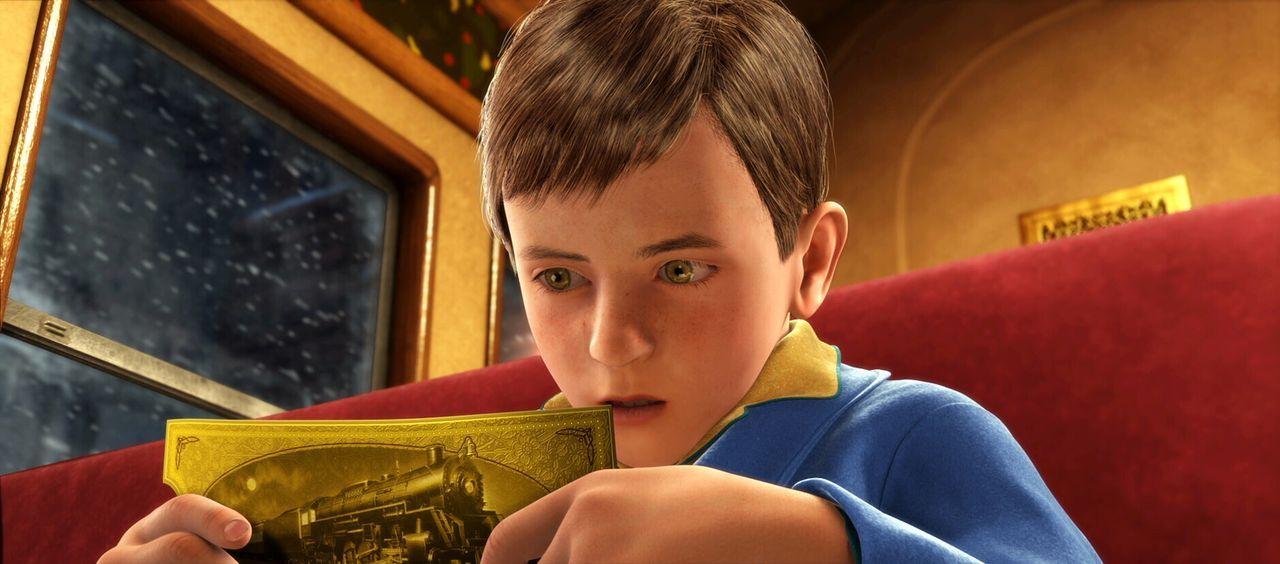 Ein zweifelnder kleiner Junge fährt mit dem außergewöhnlichen Zug bis zum Nordpol - auf dieser Reise entdeckt er auch sich selbst und erfährt, d... - Bildquelle: Warner Bros. Pictures