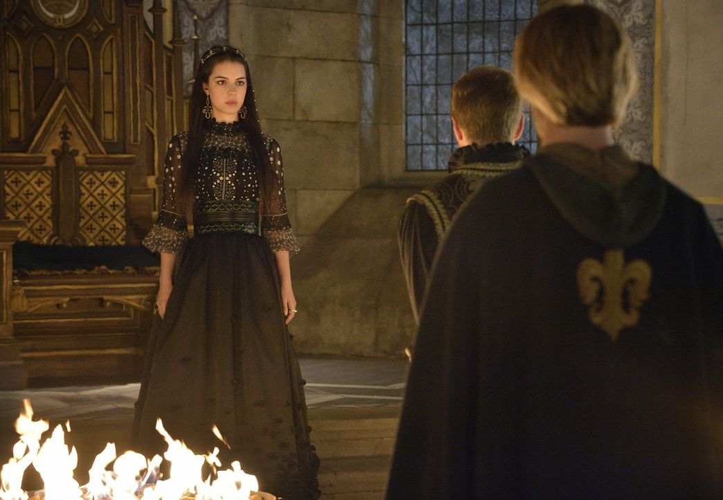 Die neue Regentschaft von Mary (Adelaide Kane, M.) und Francis wird durch den wütenden Schwarzen Tod bedroht ... - Bildquelle: Ben Mark Holzberg 2014 The CW Network, LLC. All rights reserved.