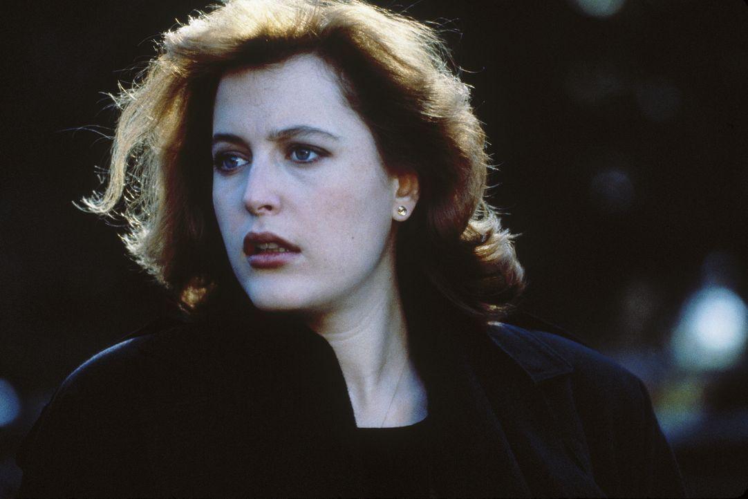 Noch weiß Scully (Gillian Anderson) nicht, dass sie sich in großer Gefahr befindet ... - Bildquelle: TM +   2000 Twentieth Century Fox Film Corporation. All Rights Reserved.