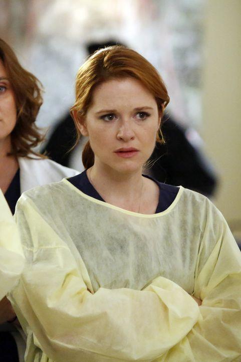 Gibt es noch Hoffnung für ihr ungeborenes Kind oder hat April (Sarah Drew) es insgeheim schon aufgegeben? - Bildquelle: ABC Studios