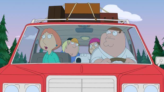 Family Guy - Die Griffins fahren zu einer Party auf einem abgelegenen Landsit...