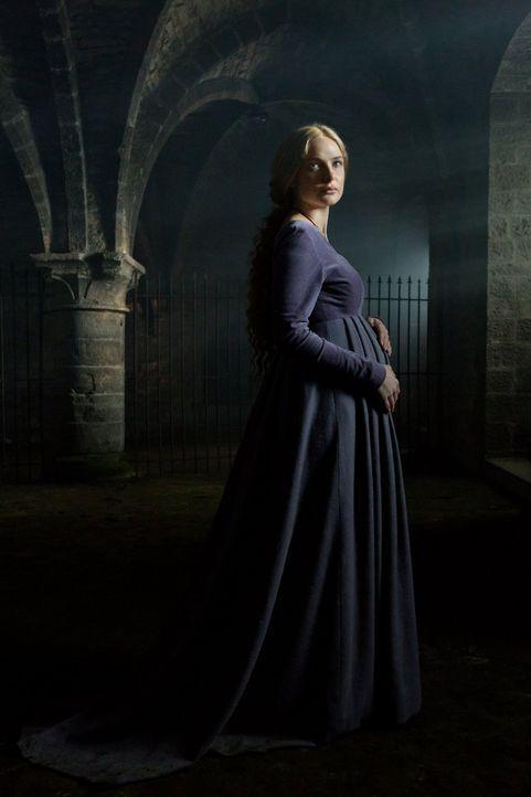 Elizabeth (Rebecca Ferguson) erwartet ein zweites Kind. Wird es diesmal ein Junge? - Bildquelle: 2013 Starz Entertainment LLC, All rights reserved