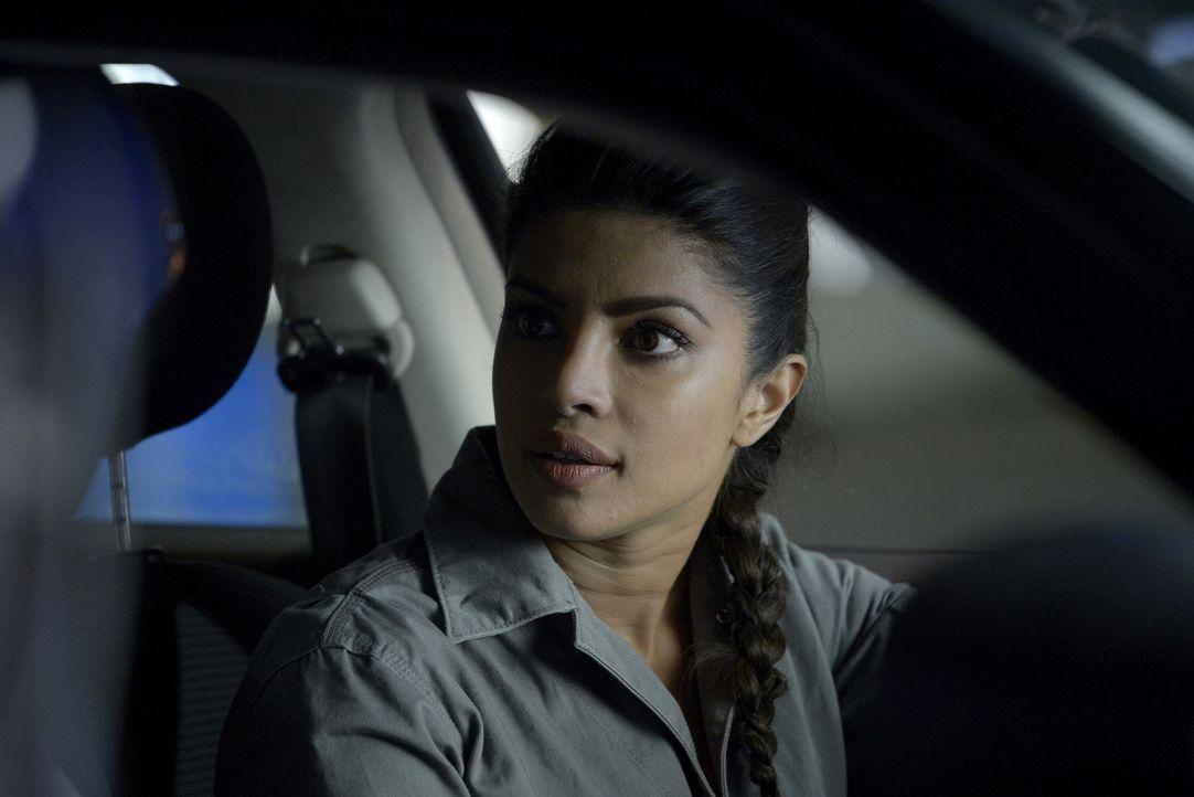 Die NATs um Alex (Priyanka Chopra) sollen Fahrübungen machen, wobei es immer mehr Spannungen zwischen Drew und Liam gibt, die schließlich dazu führe... - Bildquelle: Philippe Bosse 2015 ABC Studios