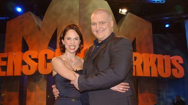 Markus Maria Profitlich (r.) und Ingrid Einfeldt (l.) © Thomas Böhme Sat.1