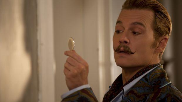 Eigentlich hätte Lord Mortdecai (Johnny Depp) mit seinen Schulden und dem Auf...