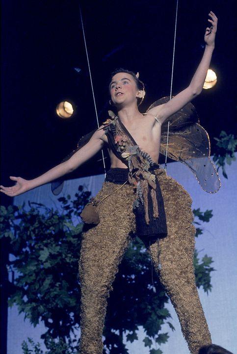 """Malcolm (Frankie Muniz) spielt den Puck in Shakespeares """"Sommernachtstraum"""". - Bildquelle: TM +   2000 Twentieth Century Fox Film Corporation. All Rights Reserved."""