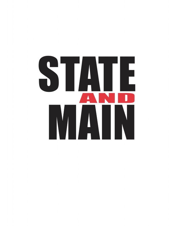 """STATE AND MAIN"" - Logo - Bildquelle: Warner Bros."