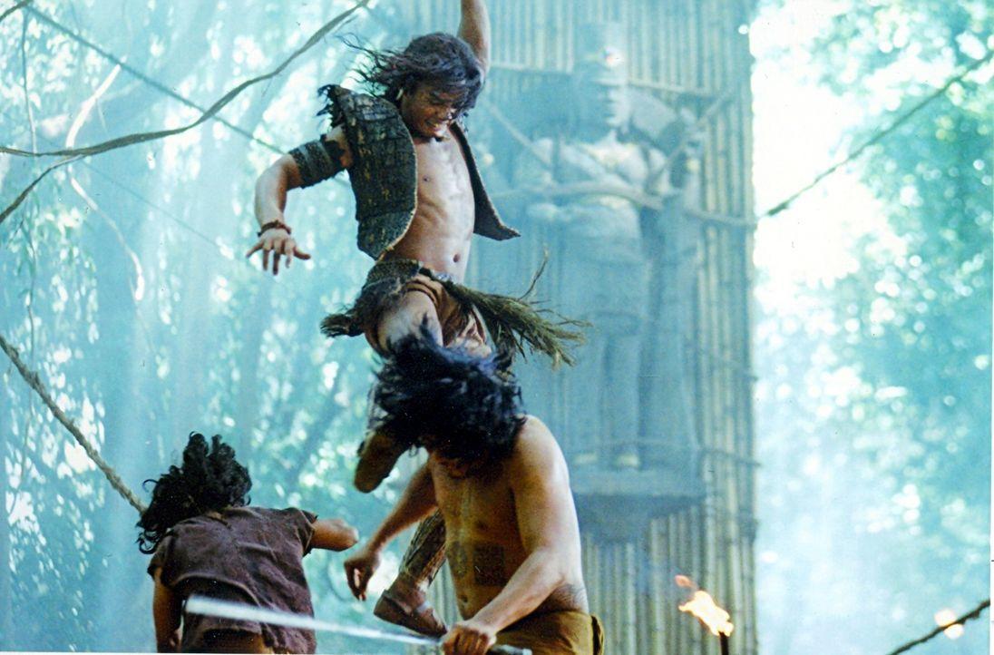Hass ist sein einziger Antrieb: Tien (Tony Jaa) ... - Bildquelle: Splendid Film