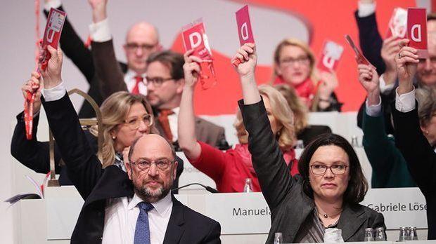 SPD ringt sich nach Redeschlacht zu Gesprächen mit Union durch