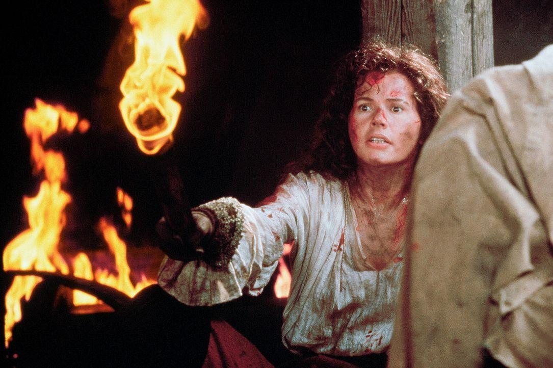 Auf der Suche nach einem riesigen Schatz muss die schöne Piratenbraut Morgan (Geena Davis) sich ihres bösen Onkels erwehren, der bereit ist, über... - Bildquelle: VCL Communications