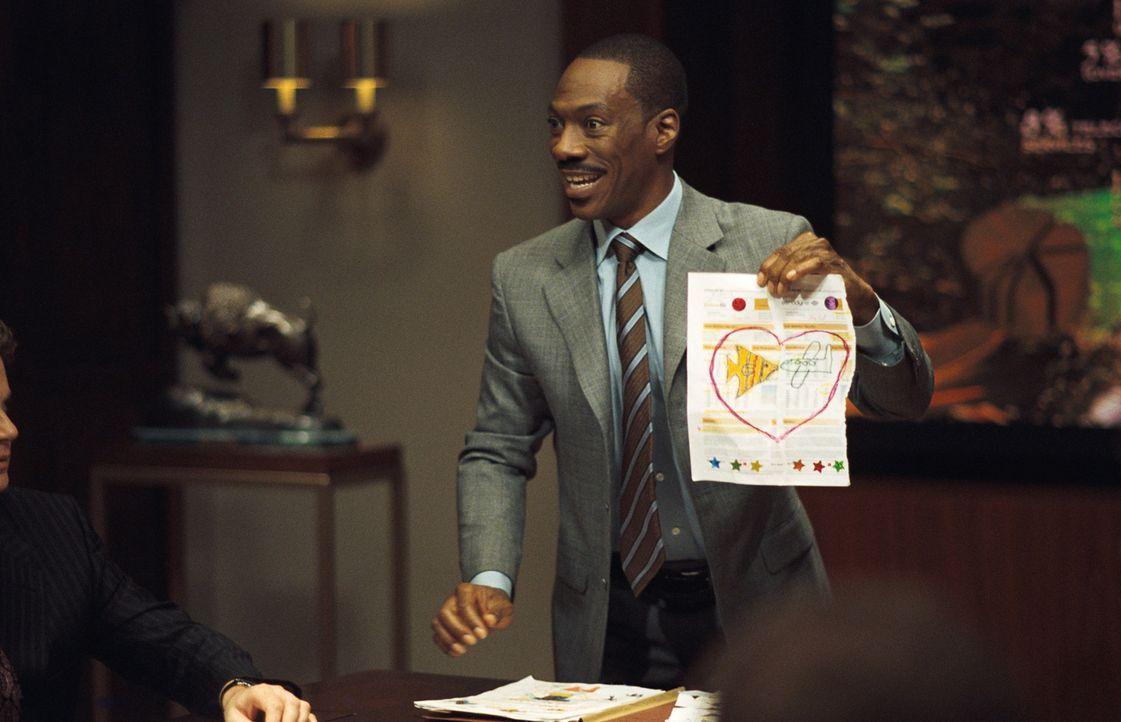 So erfolgreich er im Job ist, so lausig ist er als Vater: Evan Danielson (Eddie Murphy) ... - Bildquelle: 2009 BY PARAMOUNT PICTURES. ALL RIGHTS RESERVED