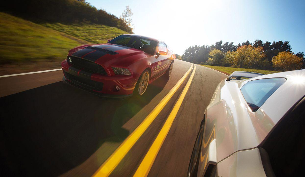 2014er Mustang Shelby GT500 (1) - Bildquelle: © 2013 Ford Motor Company