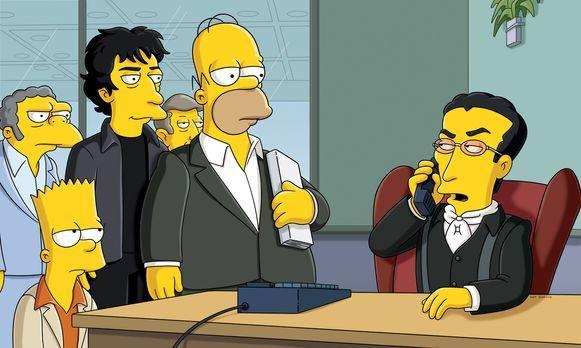 Die Simpsons - Lisa muss feststellen, dass ihre vermeintliche Lieblingsautori...