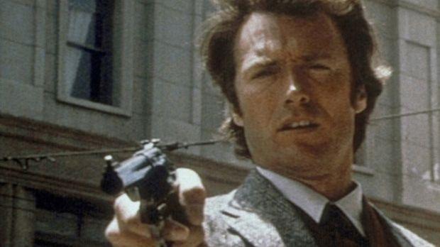 'Das Gesetz bin ich': Gnadenlos jagt 'Dirty Harry' (Clint Eastwood) den psych...