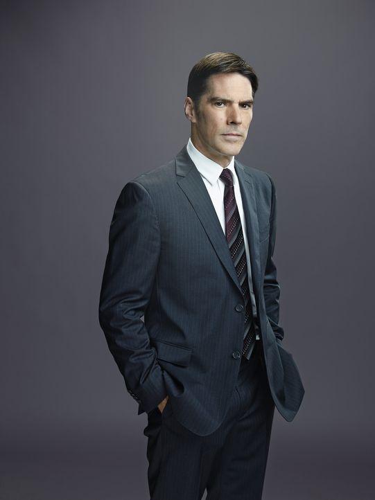 (10. Staffel) - Im Einsatz für die Gerechtigkeit: Special Agent Aaron Hotchner (Thomas Gibson) ... - Bildquelle: Cliff Lipson ABC Studios