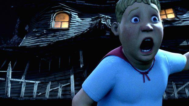 Wer dem Monsterhaus zu nahe kommt, muss um sein Leben rennen! Diese Erfahrung...