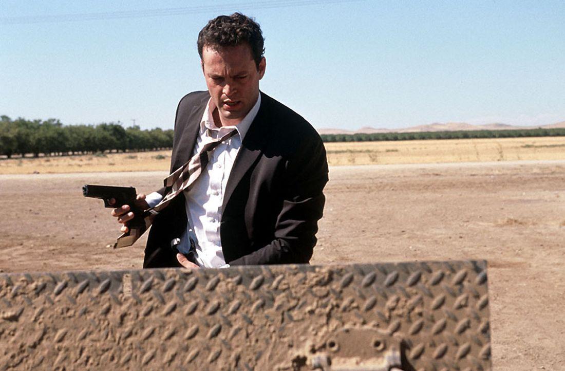 Endlich gelingt es dem FBI-Agenent Peter Novak (Vince Vaughn), einen psychopatischen Serienkiller zu erwischen. Doch bei der Festnahme fällt der Tät... - Bildquelle: Kinowelt Filmverleih