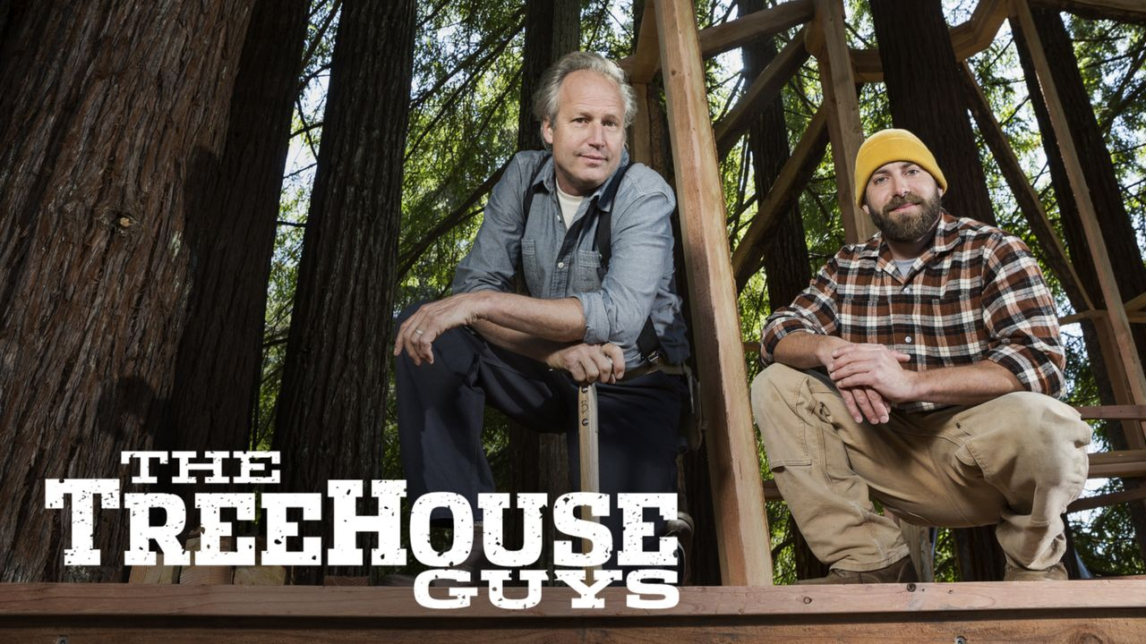 "Treehouse Guys: James ""B'fer"" Roth (l.) und Chris ""Ka-V"" Haake (r.) ..."