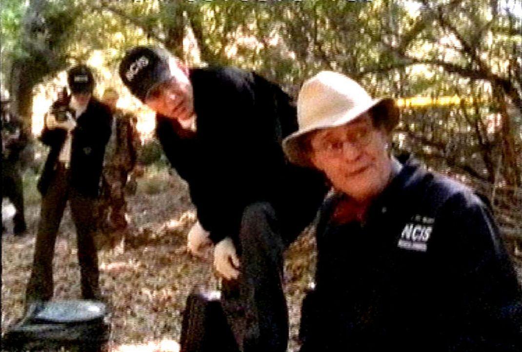 Zehn Jahre nach seinem Verschwinden wird in einem Frachtbehälter die mumifizierte Leiche von Lieutenant Schilz gefunden. Die Spezialagenten des Nav... - Bildquelle: CBS Television