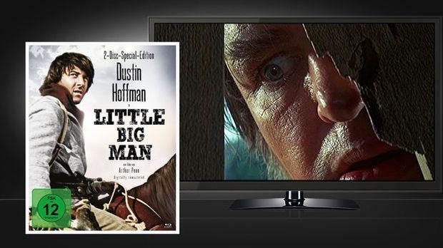 Little Big Man - Blu-ray Disc und Szenenbild