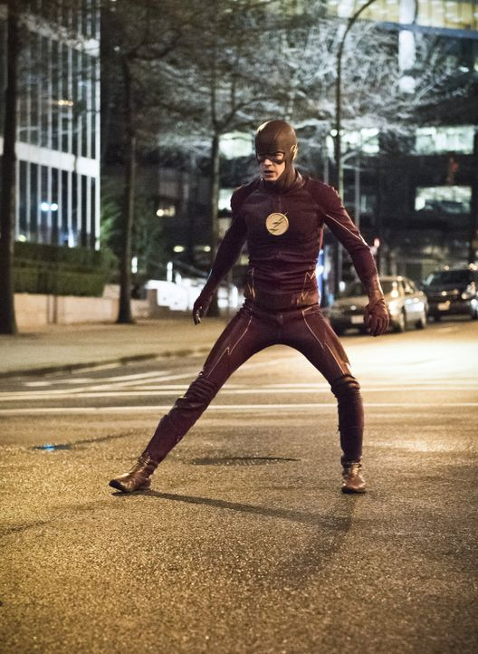 Wird sein ganzer Optimismus und seine fehlende Angst Barry alias The Flash (Grant Gustin) im Kampf gegen die bösen Metawesen zum Verhängnis werden? - Bildquelle: Warner Bros. Entertainment, Inc.