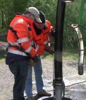 Christoph und Rolf bei der Arbeit