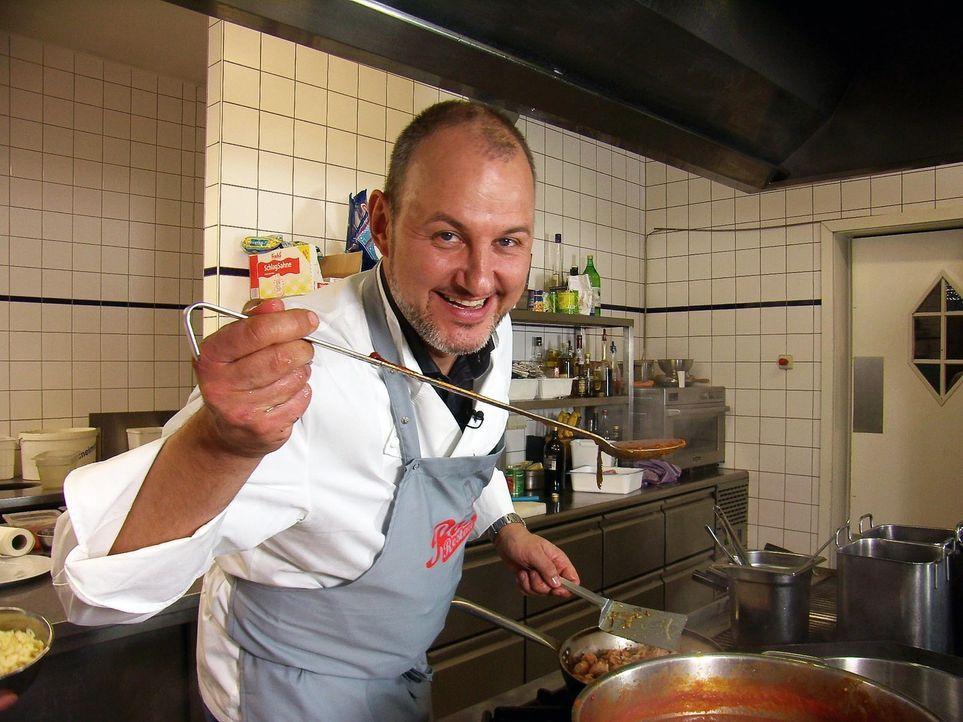 """Im """"Casa Italiana da Alberto"""" in Berlin bleiben die Gäste aus - das will Sternekoch Frank Rosin ändern. - Bildquelle: kabel eins"""