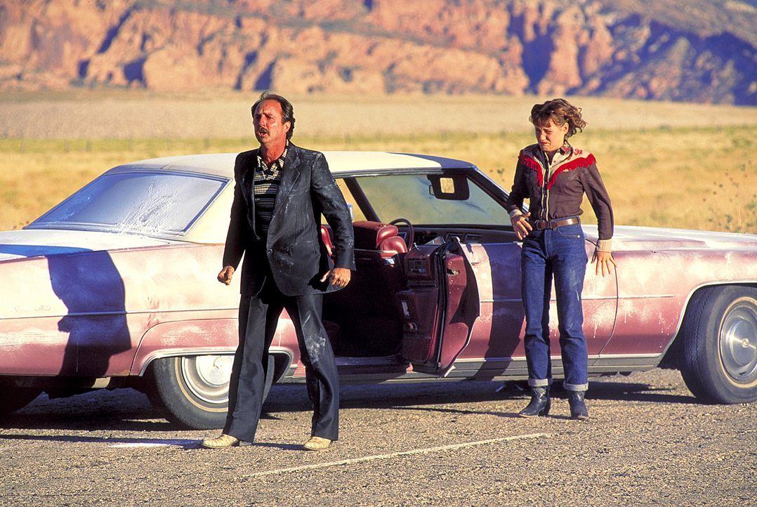 Der eiskalte und brutale Killer Hector (Bret Davidson, l.) wird losgeschickt, um Julee (Nicolette Krebitz, r.) die Diamanten wieder abzujagen, die s... - Bildquelle: Norm Shrewsbury ProSieben