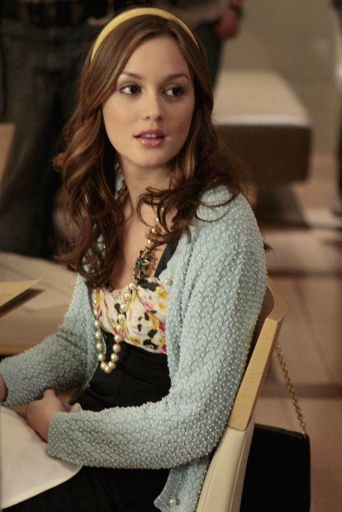 Blair (Leighton Meester) hofft weiterhin darauf, die drei magischen Wörter von Chuck zu hören ... - Bildquelle: Warner Brothers