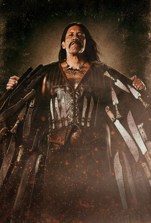 Fürchtet weder Tod noch Teufel: Machete (Danny Trejo) ... - Bildquelle: 2010 Machete's Chop Shop, Inc. All Rights Reserved.