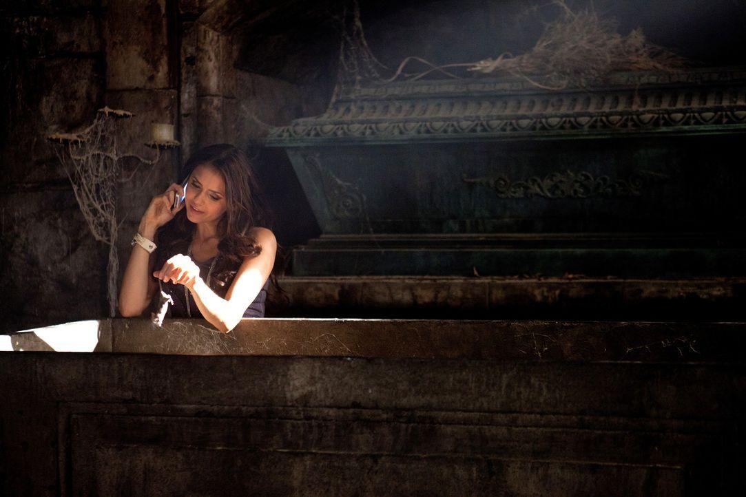 Mit allen Mitteln versucht Katherine (Nina Dobrev), Mikael wiederzuerwecken, der weigert sich jedoch, menschliches Blut zu sich zu nehmen ... - Bildquelle: Warner Bros. Television