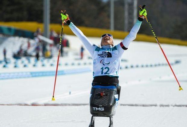 Sieg im 10-km-Biathlon: Andrea Eskau
