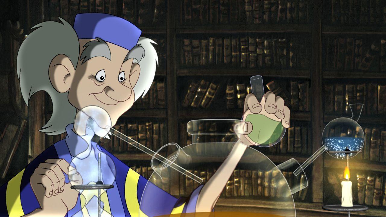 Als Till Eulenspiegel seinen Großvater Marcus besuchen will, erfährt er, dass dieser bei einem magischen Experiment verschwunden ist. Nun muss Til... - Bildquelle: Capella Films International