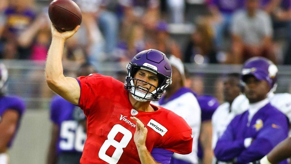 Kirk Cousins bestritt sein erstes Preseason-Spiel für die Minnesota Vikings - Bildquelle: Imago
