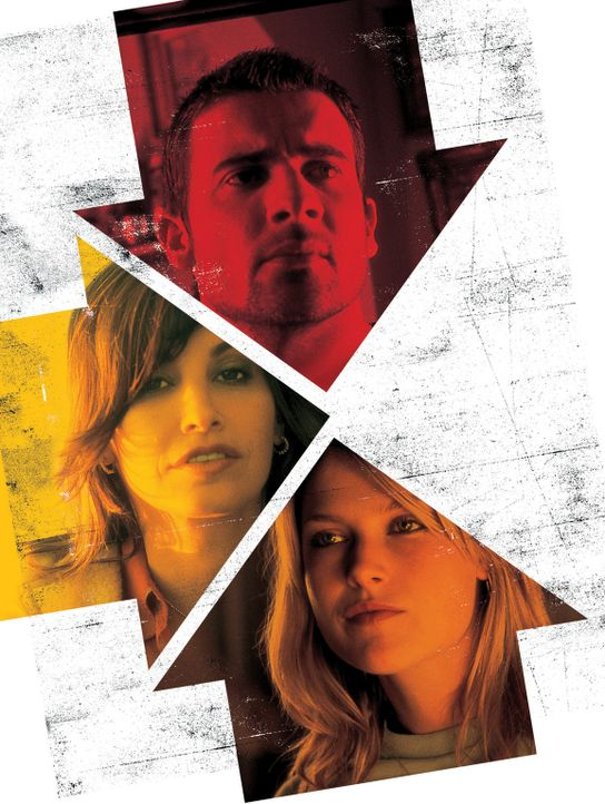 3-Way - Artwork -  mit Dominic Purcell, oben, Gina Gershon, l. und Ali Larter, r. - Bildquelle: Sony Pictures Television International. All Rights Reserved.