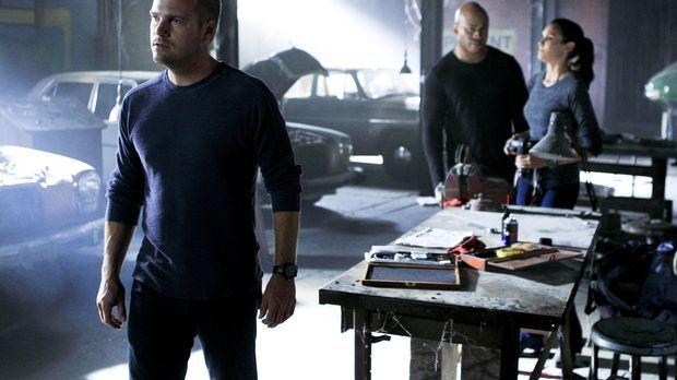 Versuchen alles, um Hetty zu retten: Callen (Chris O'Donnell, l.), Sam (LL Co...