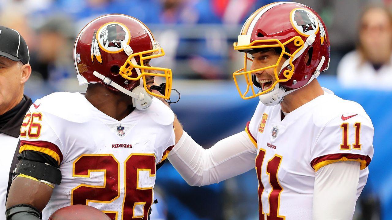 Oldies lassen Redskins jubeln - Bildquelle: 2018 Getty Images